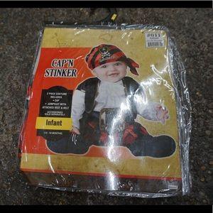 Infant boy pirate costume